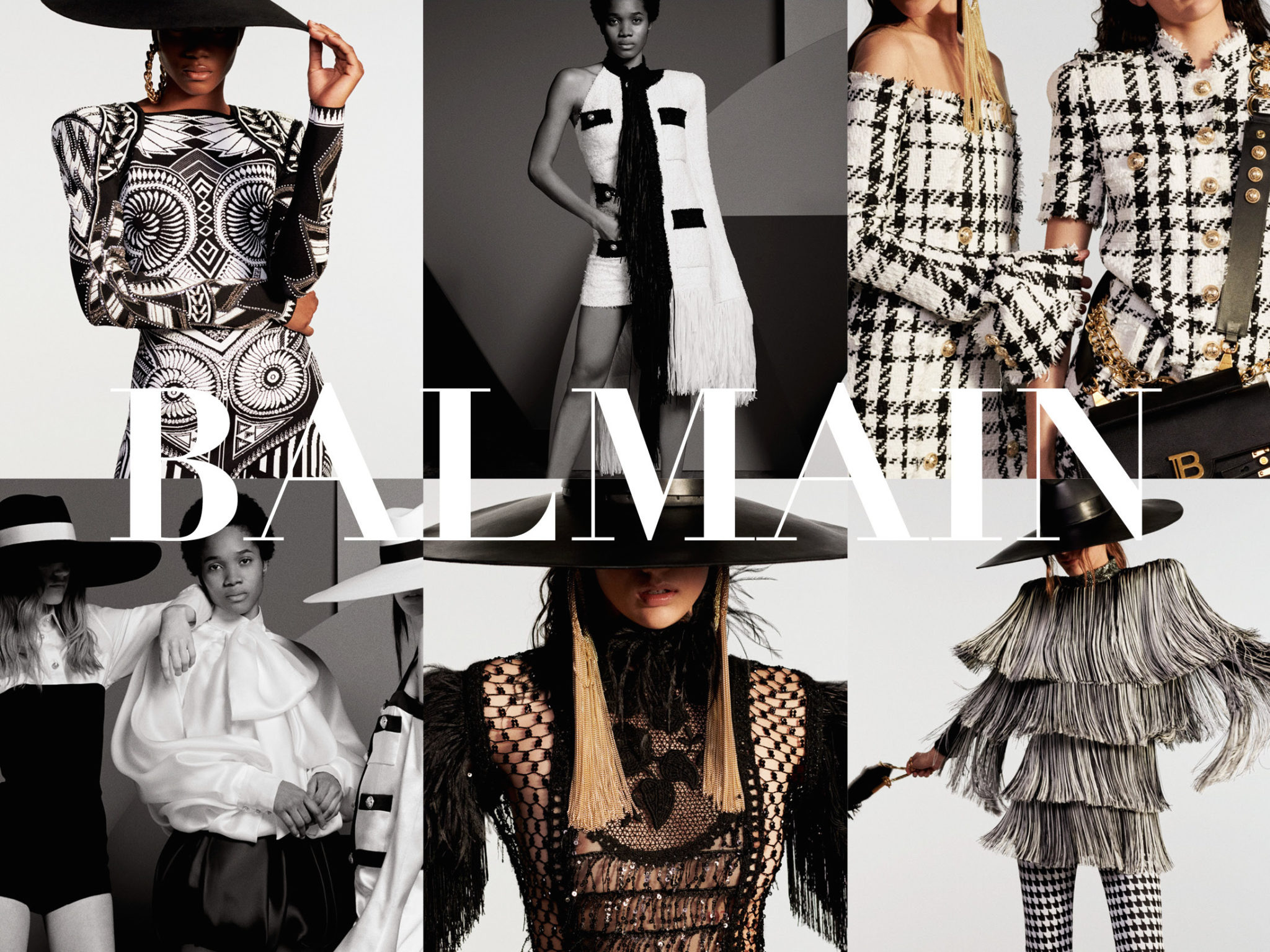 Olivier Rousteing returns to Balmain's roots for Resort '20