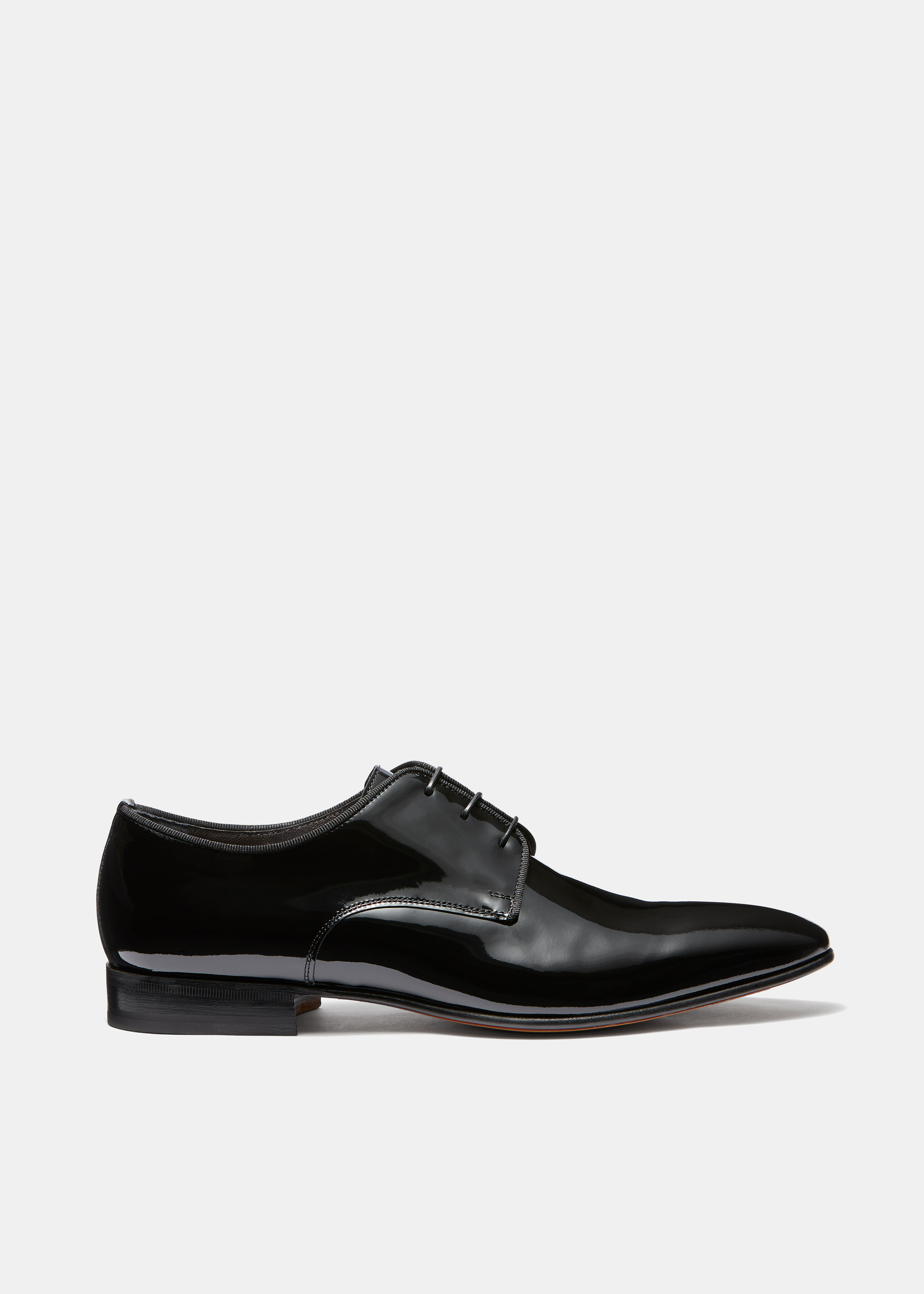 Patent Leather Derby Shoe