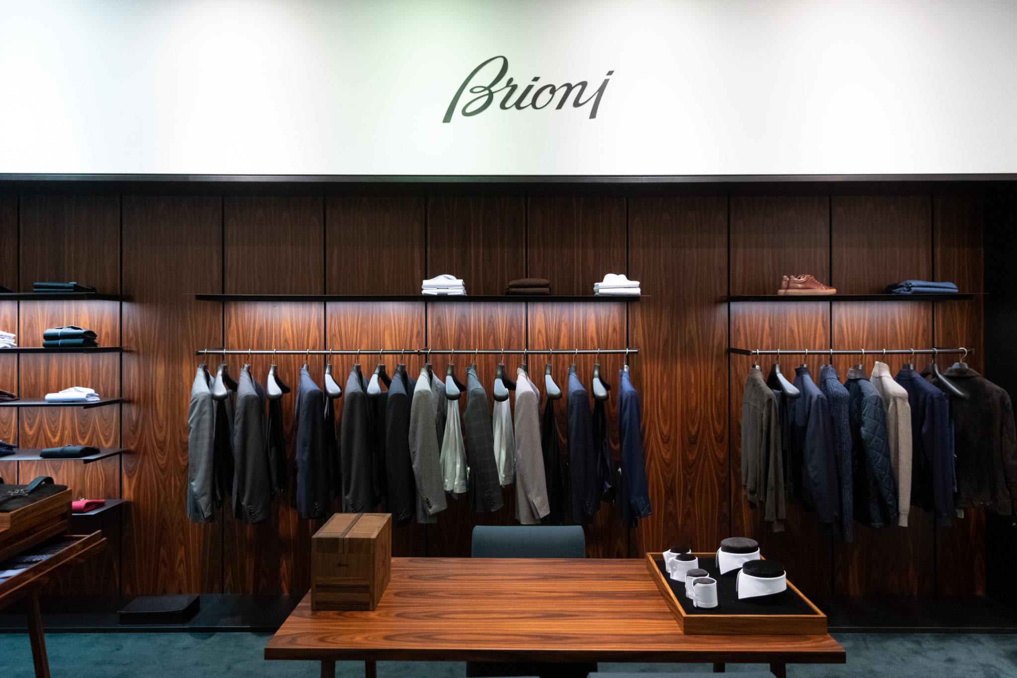 Brioni x Harrolds