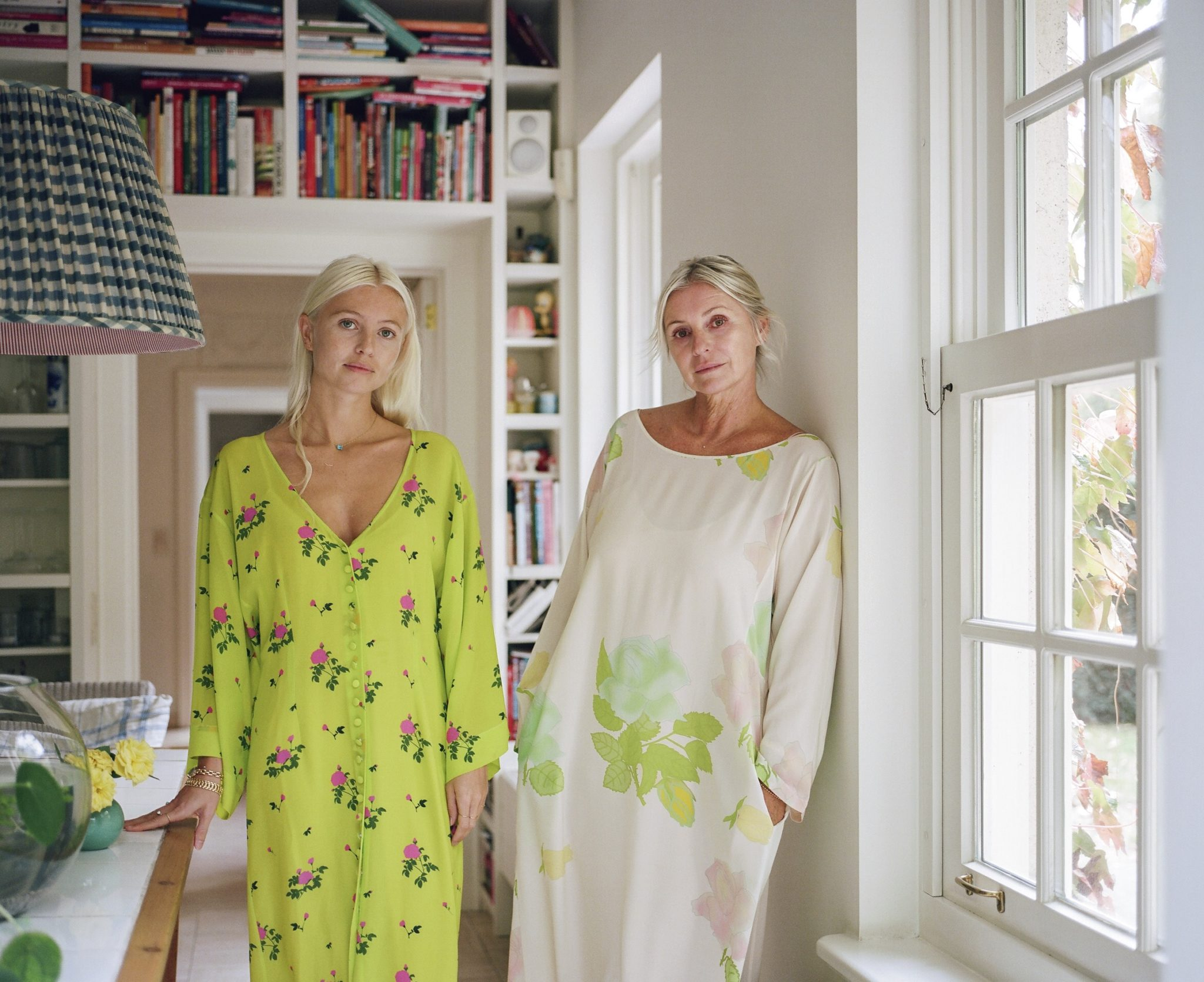 Meet the mother-daughter duo behind this season's must-have silk dresses