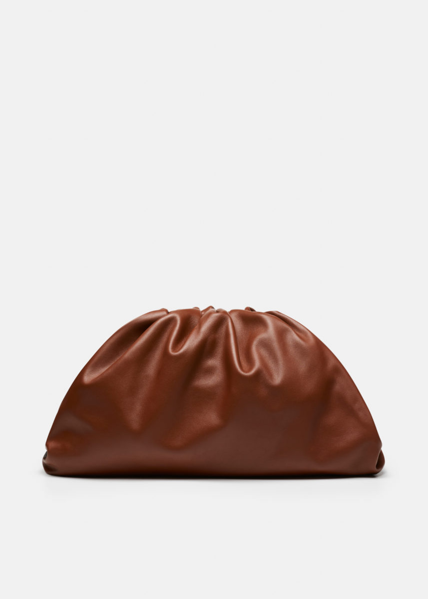 The Pouch Large Smooth Leather Bag