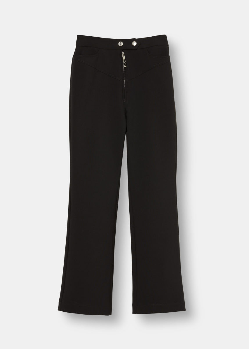 Never On Sunday High-Waisted Trousers