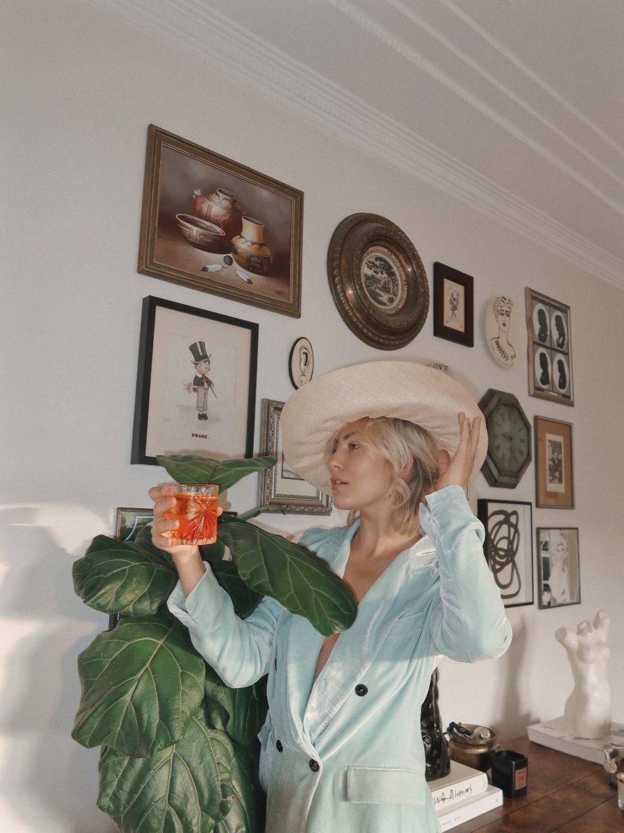 Violet Grace Atkinson on the art of dressing up to stay home