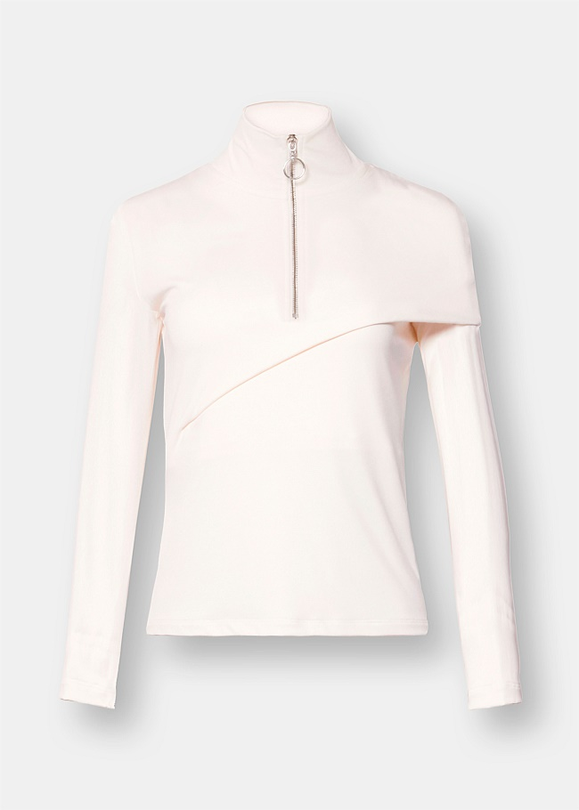 Long Sleeve Fold Top