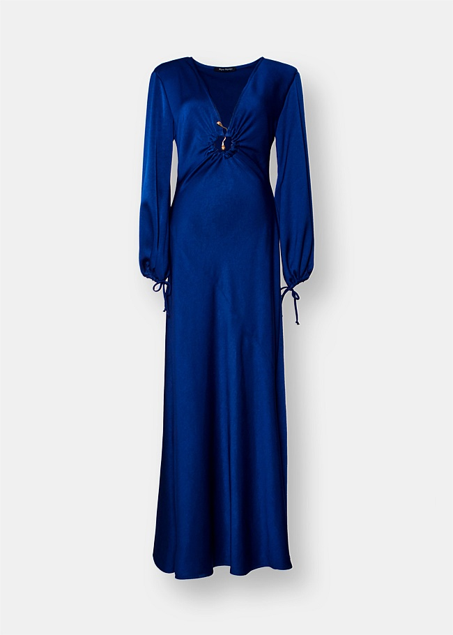 Moon V-Neck Gown