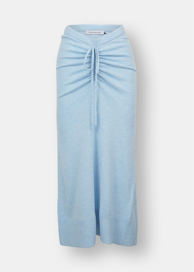 Ruched Draped Skirt