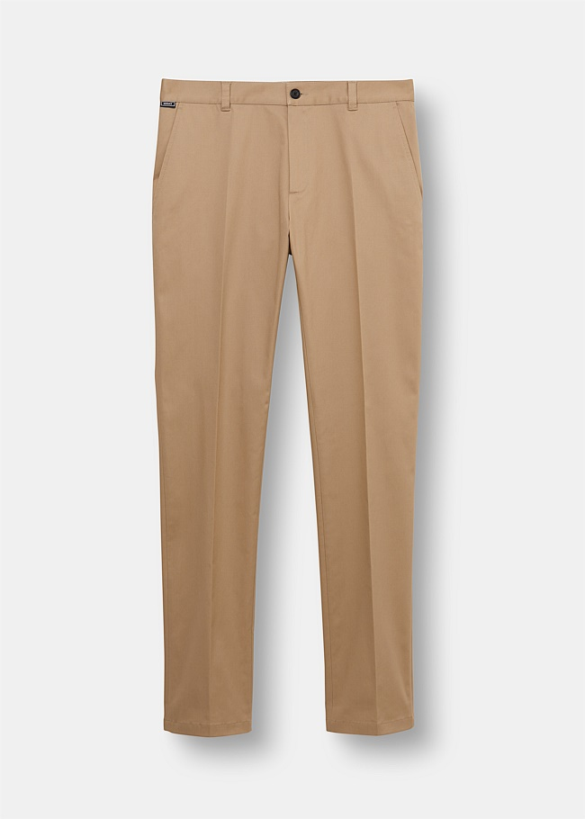 Cotton Slim Fit Chino Trousers