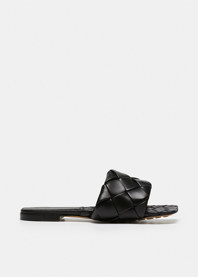 Lido Woven Leather Sandal