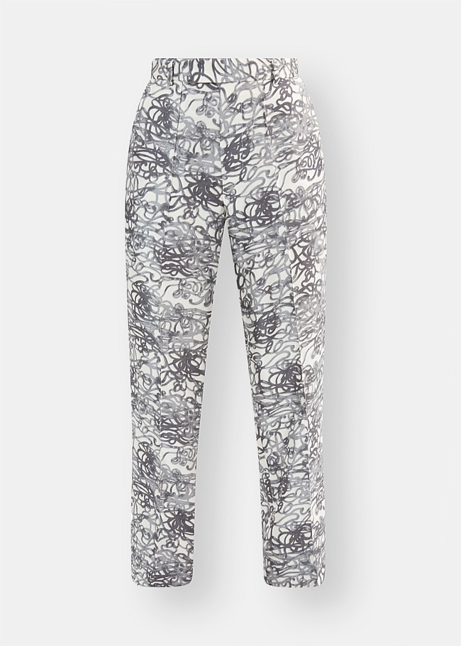 Tailored Squiggle Pant