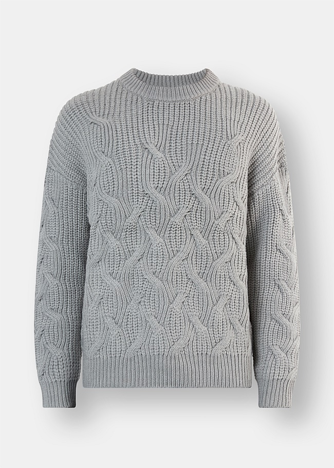 Cable Crew Knit