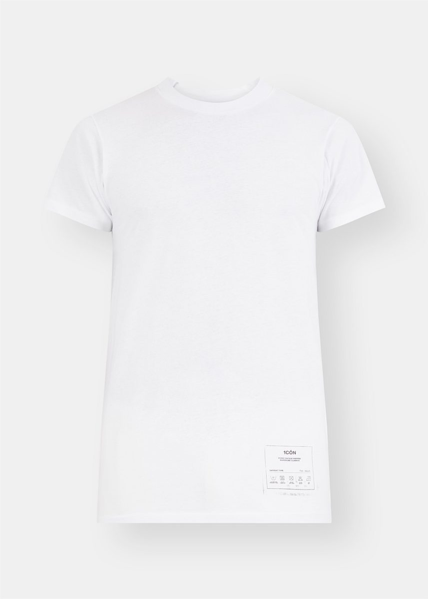 Icon Patch White Tee