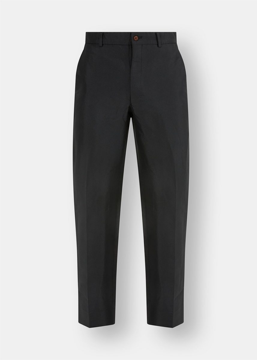 Double Twill Slim Trousers