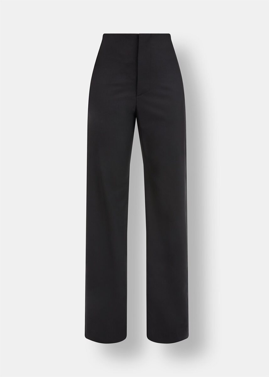 Ally High-Waisted Tailored Trousers