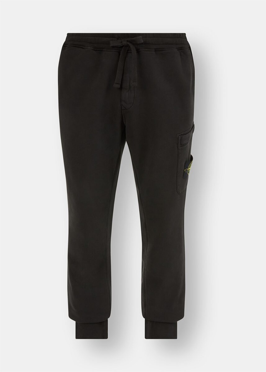 Garment Dyed Logo Patch Joggers