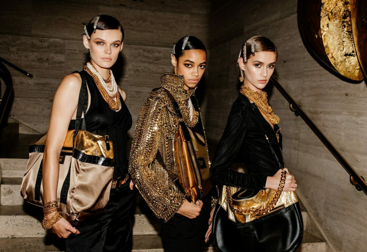 Tom Ford's sequin-studded NYFW runway was a disco delight